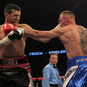 CARL FROCH V MIKKEL KESSLER II O2 ARENA 25TH MAY 2013