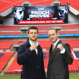 FROCH-GROVES REMATCH CONFERENCE 